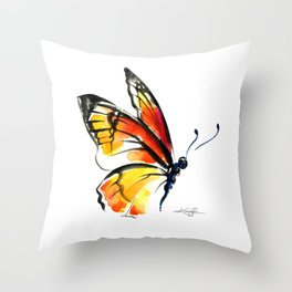 Monarch No. 3 by Kathy Morton Stanion Throw Pillow