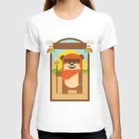 ewok T-shirts featuring Esok Ewok by Gary  Ralphs Illustrations