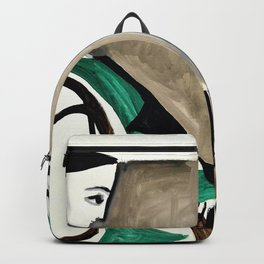 Pablo Picasso - Woman in the workshop - Digital Remastered Edition Backpack