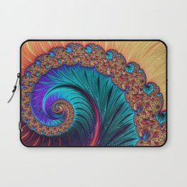 Bejewelled Spiral Laptop Sleeve