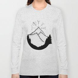 Mountain Compass Long Sleeve T-shirt