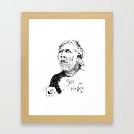 Jeff Healey (musician) Framed Art Print