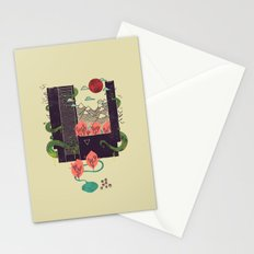 A World Within Stationery Cards