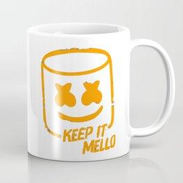 Marshmello - Keep It Mello Orange Coffee Mug