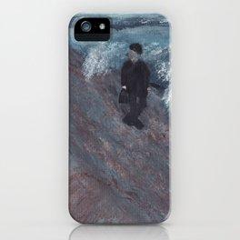 Joel On The Beach iPhone Case