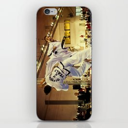 Traditional sparring - Taekwon-do ITF iPhone Skin