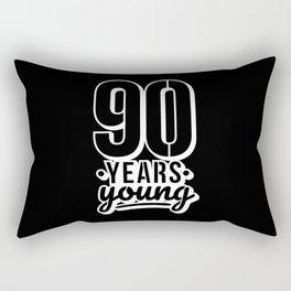90th Birthday Gift idea Rectangular Pillow