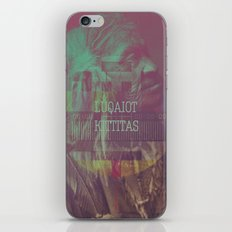 Luqaiot Kittitas iPhone & iPod Skin
