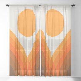 Golden Valley Sheer Curtain