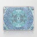 Circular Greek Meander Pattern - Greek Key Ornament by k9printart