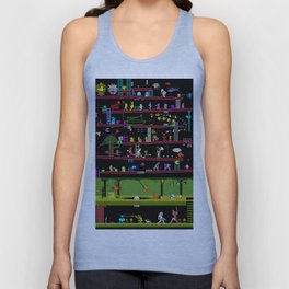 50 Classic Video Games Unisex Tank Top