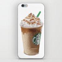 starbucks iPhone & iPod Skins featuring Starbucks clean by Amit Naftali