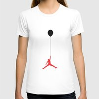 air jordan T-shirts featuring Air Jordan Balloon by Ivan Langham