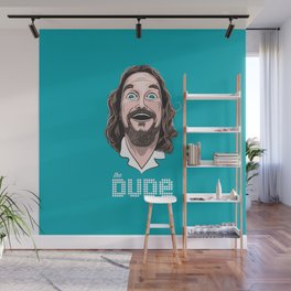 The Dude Wall Mural