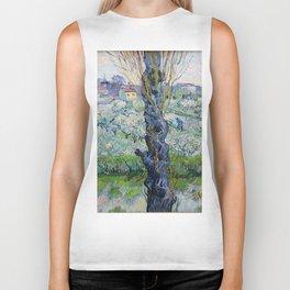 """Vincent Van Gogh """"View of Arles, Flowering Orchards"""" Biker Tank"""