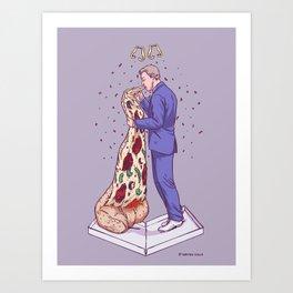 I Dough (Groom) Art Print