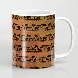 African Animal Pattern Coffee Mug