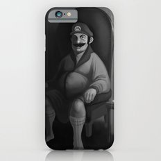 Portrait of a Plumber iPhone 6s Slim Case