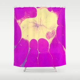 Exploding Love Shower Curtain