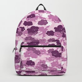 Happy Clouds / Pink Backpack