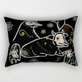 For The Ghosts Rectangular Pillow