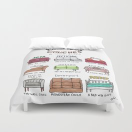 Know Your Couches: A Visual Guide Duvet Cover
