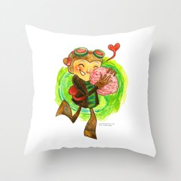 Psychonauts Hug! Throw Pillow