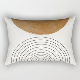 Minimalist Space Rectangular Pillow