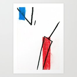 together | separate 03 Art Print
