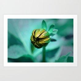 Piranha Plant (Hue) Art Print
