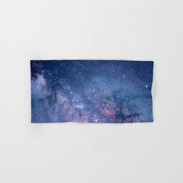Milky Way Stars (Starry Night Sky) Hand & Bath Towel