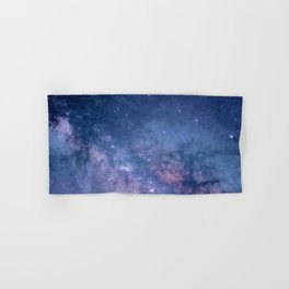 Milky Way Stars (Starry Night Sky) Hand & Bath Towel