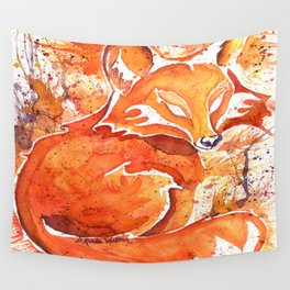 Fox (Spirit of the...) Wall Tapestry