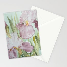 Lavender Beauties (irises) Stationery Cards