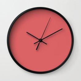 Deep Sea Coral Wall Clock