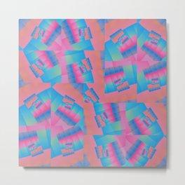 Colour Patch Metal Print