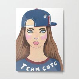 Team Cute Metal Print