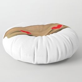 Influencer Face Dario Moccia Toscano Padre Ideale Agnese Floor Pillow