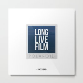 Long Live Film  Metal Print