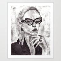 daria Art Prints featuring Daria by Yuval Ozery