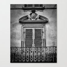 Juliet's Balcony Canvas Print