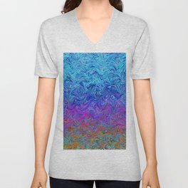 Fluid Colors G255 Unisex V-Neck
