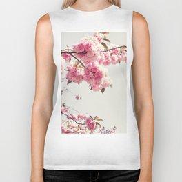 Cherry blossom tree Biker Tank