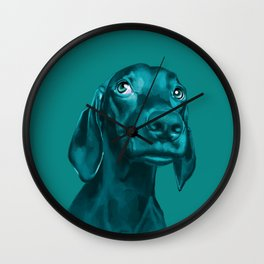 The Dogs: Guy 4 Wall Clock