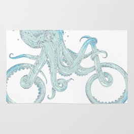 sea bicycle Rug