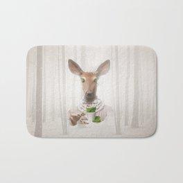 Would you like a cup of tea, my deer ?  Bath Mat