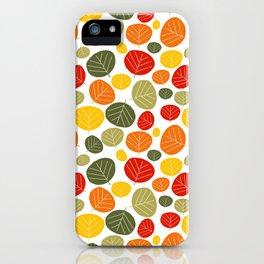 Autumn happiness iPhone Case