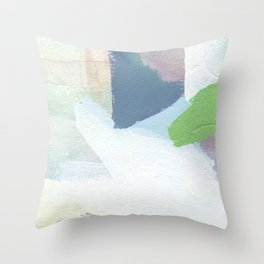 Square Fields Throw Pillow