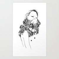 gangster Art Prints featuring Gangster by Avalon lewis