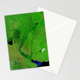 Floods in Argentina Stationery Cards
